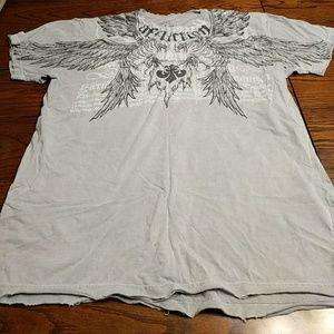 Affliction tshirt XXL